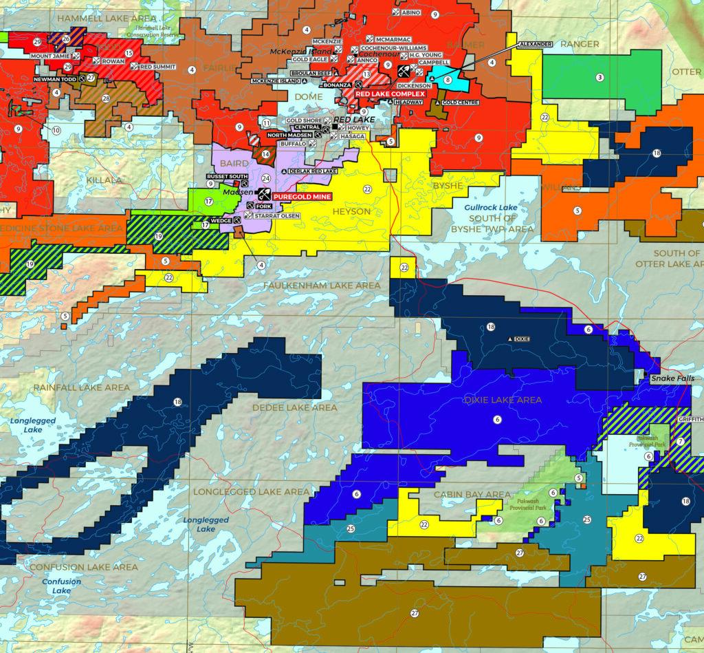 DigiGeoData - red lake 2021