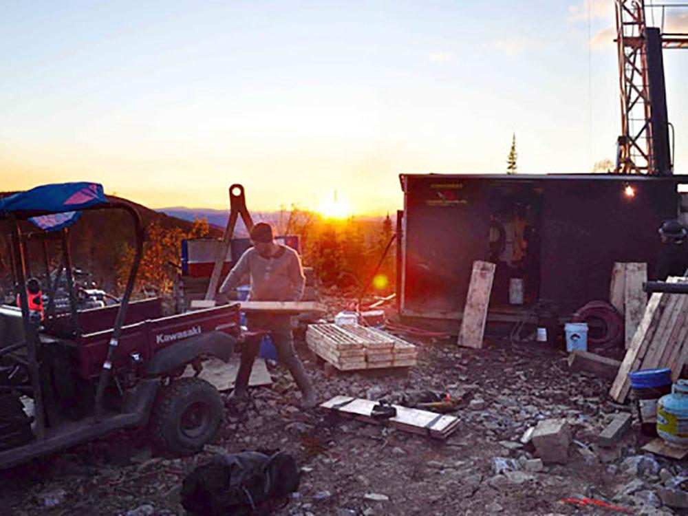 Photo courtesy of Alianza Minerals Ltd.