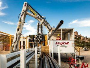 Photo courtesy of Major Drilling