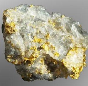 DigiGeoData - UG Chimo Gold Sample
