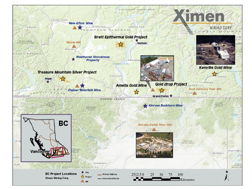 Ximen Mining Corp