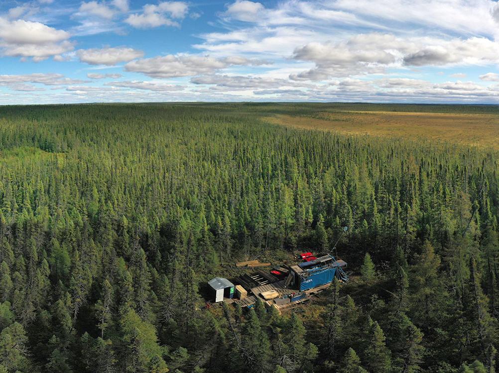 Photo courtesy of Wallbridge Mining;Source: VRIFY Technologies