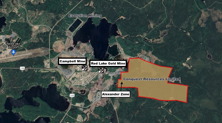 Conquest Resources - Alexander Gold Projects